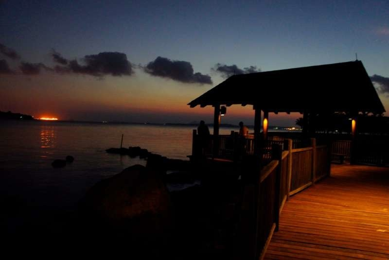 changi boardwalk sunrise