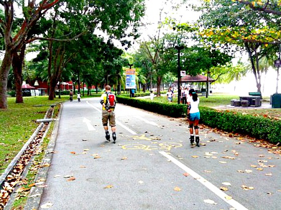 east-coast-park-roller-bladers
