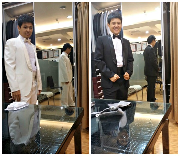 men suit fitting GEM taipei